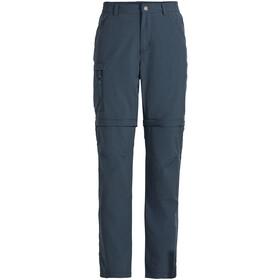 VAUDE Farley Pantaloni con zip V Uomo, blu
